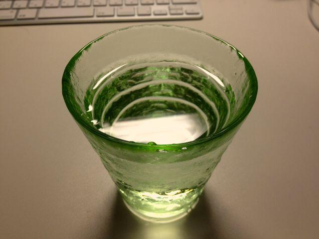 朝一杯のお水